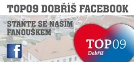 Banner - TOP 09 Dobříš facebook