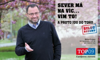 TOP 09 povede do voleb Michal Kučera