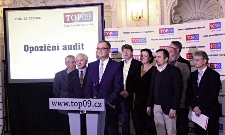 TOP 09: Pokračujeme v Opozičním auditu