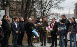 Michal Kučera se byl poklonit hrdinům doby