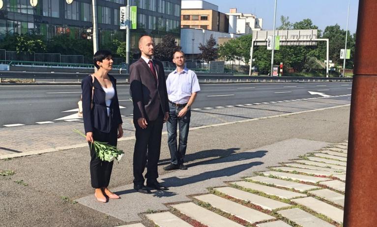Pražská TOP 09 uctila památku hrdinů atentátu na Heydricha