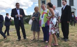 Lichtenštejni navštívili Moravský Krumlov