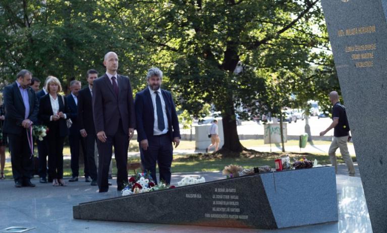 Pražská TOP 09 si připomněla Den památky obětí komunistického režimu