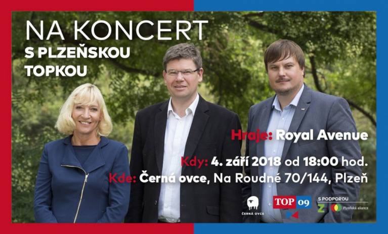 Přijďte s námi zahájit kampaň v Plzni