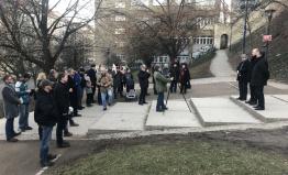 Pražská TOP 09 uctila památku obětí komunistického režimu