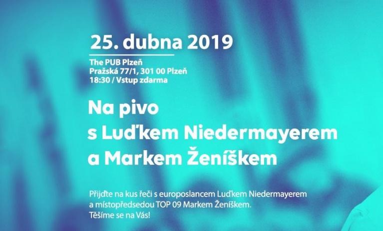 Luděk Niedermayer bude debatovat v Plzni
