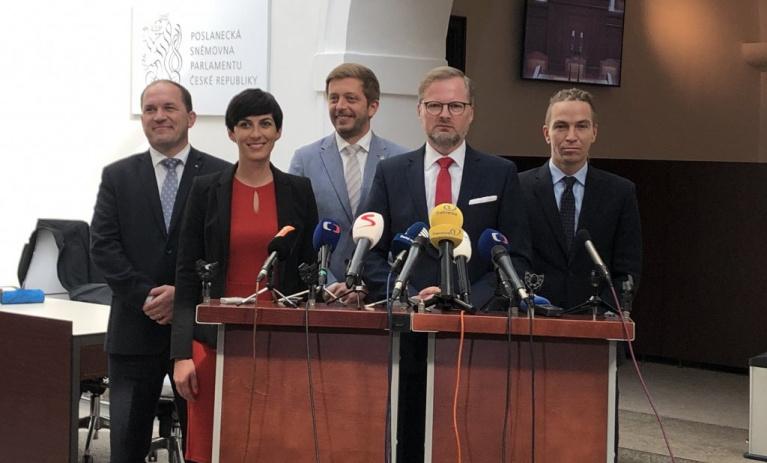 Společné prohlášení představitelů opozičních parlamentních stran