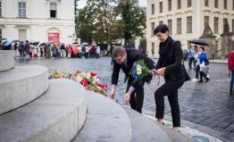 TOP 09 Praha si připomíná Den české státnosti