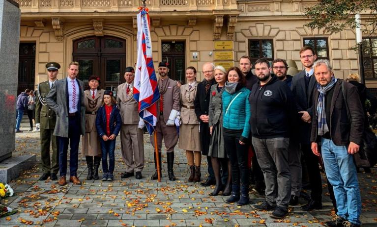 Jihomoravská TOP 09 si připomněla vznik Československé republiky