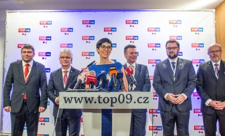 TOP 09 schválila vytvoření koalice s ODS a KDU-ČSL