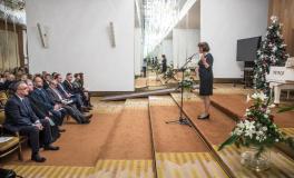 Poslanci TOP 09, STAN, KDU-ČSL a ODS uspořádali adventní setkání