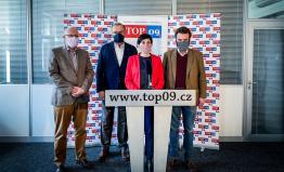 TOP 09: Na COVID-19 nesmí umřít demokracie ani naše firmy