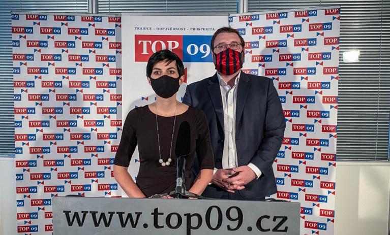 TOP 09: Prodloužení nouzového stavu naši podporu nemá, zato živnostníci ano