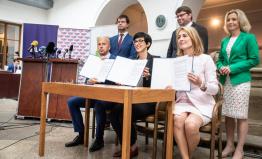 Spojenci TOP 09, Hlas a Zelení chtějí v krajských volbách změnit Středočeský kraj