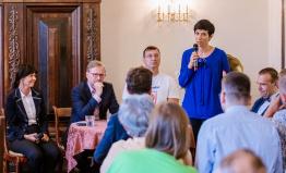Markéta Pekarová Adamová a Petr Fiala přijeli podpořit kandidáty ODS a TOP 09 pro krajské volby