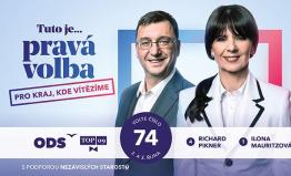 Pravé spojení má v krajských volbách na vítězství!