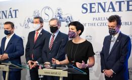 ODS, KDU-ČSL, TOP 09: Dosáhli jsme velké dohody mezi Senátem, Sněmovnou a vládou. Necháváme lidem v peněženkách více peněz