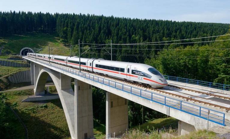 Vysokorychlostní trať Poohří