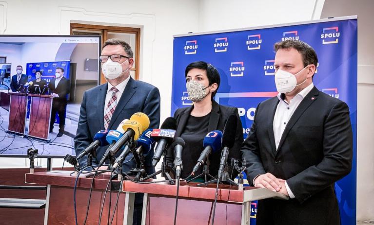 SPOLU: Jednání Jana Hamáčka má rysy vlastizrady. Ministr vnitra i vláda řízená Milošem Zemanem musí skončit