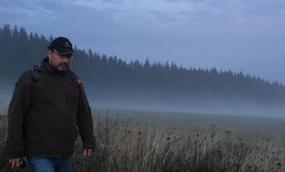 Michal Kučera v Krušných horách