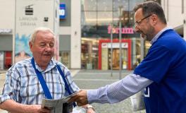 Start kontaktní kampaně v Ústí nad Labem