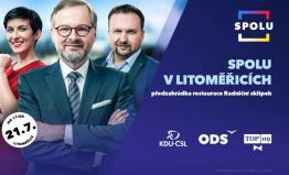 Přijďte debatovat s lídry SPOLU v Litoměřicích