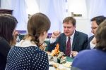 Martin Plíšek na snídani s novináři