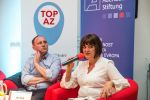 Poslankyně Helena Langšádlová (TOP 09) hovoří na konferenci Trojský kůň