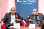 Michael Romancov (FSV UK) hovoří na konferenci Trojský kůň